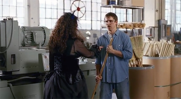 GEICO-Witch-Commercial---Happier-Than-a-Witch-in-a-Broom-Factory